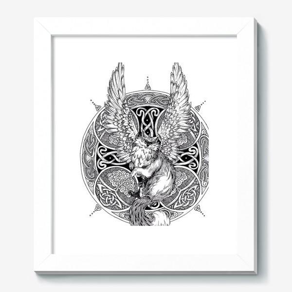 Картина «крылатый кот»