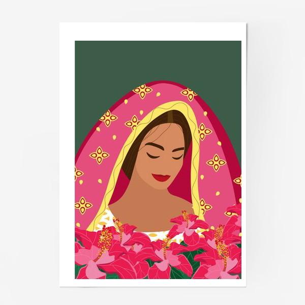 Постер «Индианка»