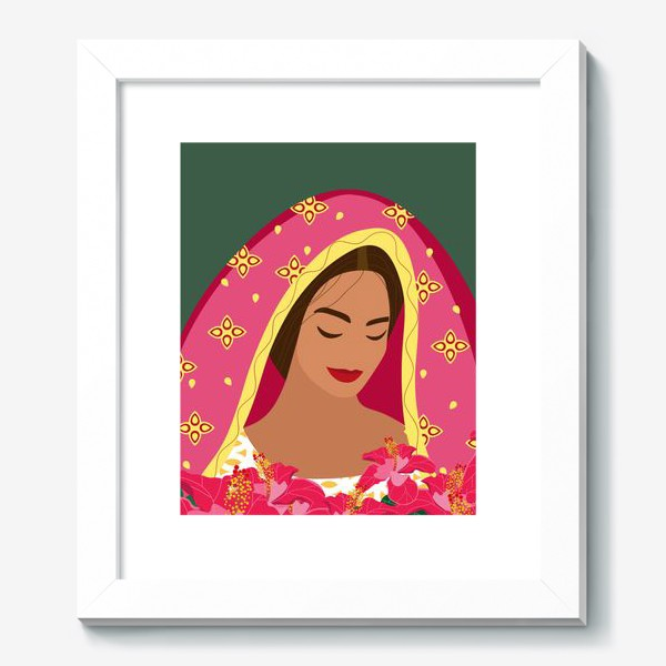 Картина «Индианка»
