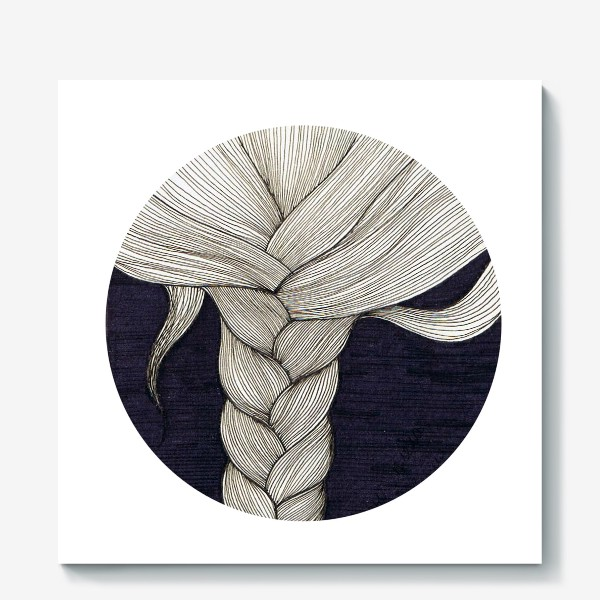 Холст «коса»