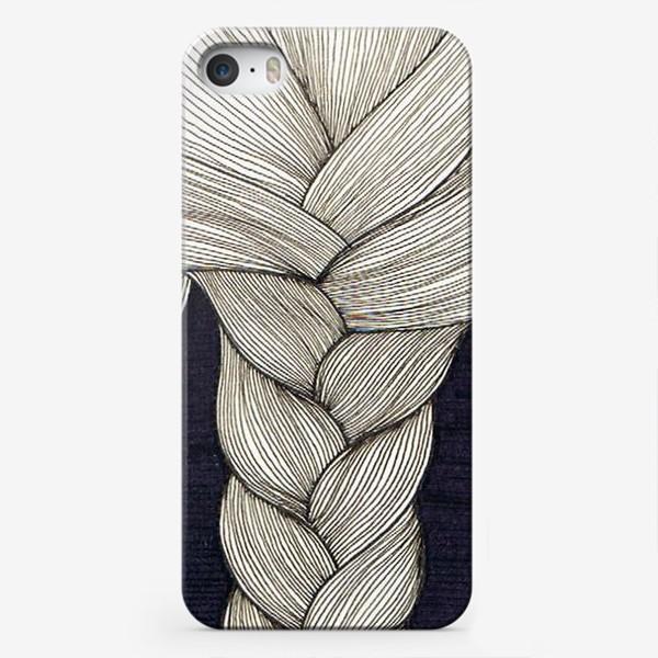 Чехол iPhone «коса»