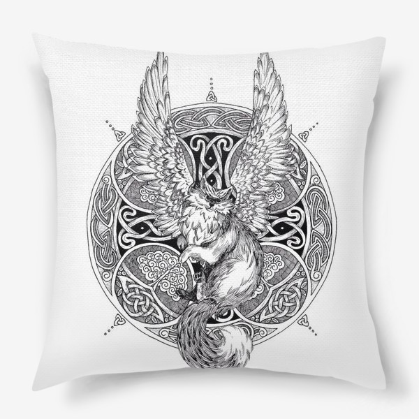 Подушка «крылатый кот»