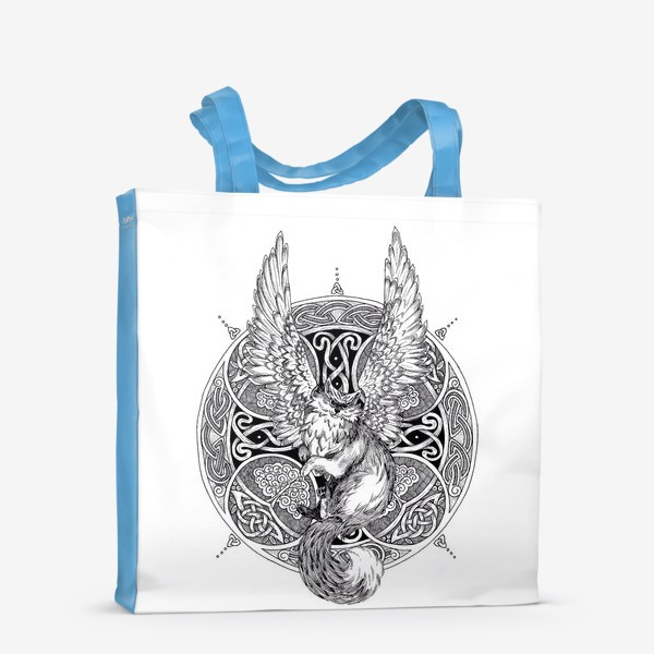 Сумка-шоппер «крылатый кот»