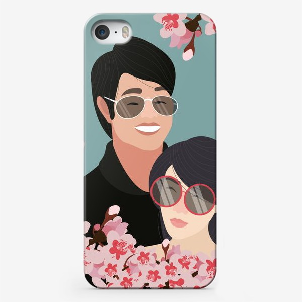 Чехол iPhone «Пара японцев»