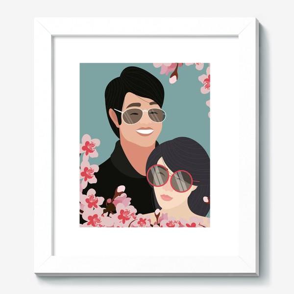 Картина «Пара японцев»