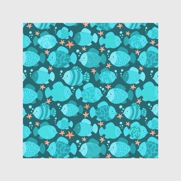 Скатерть «Синие рыбки»