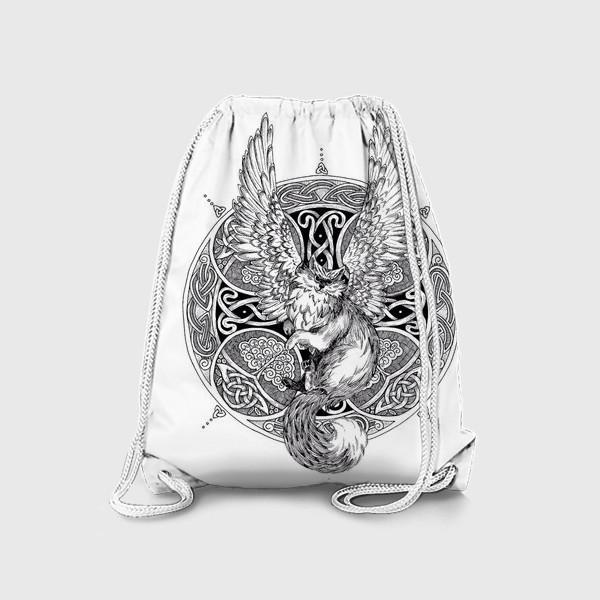 Рюкзак «крылатый кот»