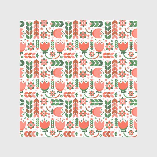 Скатерть «Геометричные тюльпаны»