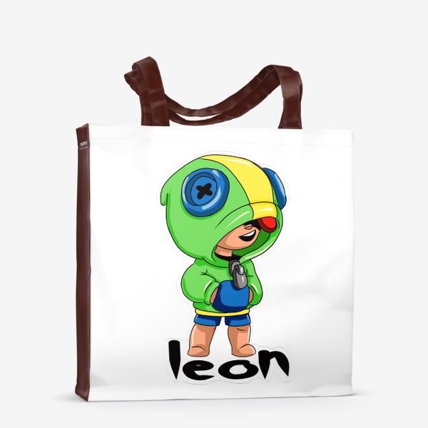 Сумка-шоппер «Brawl Stars. Leon»