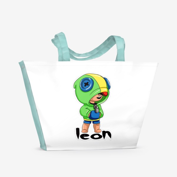 Пляжная сумка «Brawl Stars. Leon»