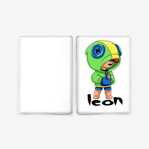 Обложка для паспорта «Brawl Stars. Leon»