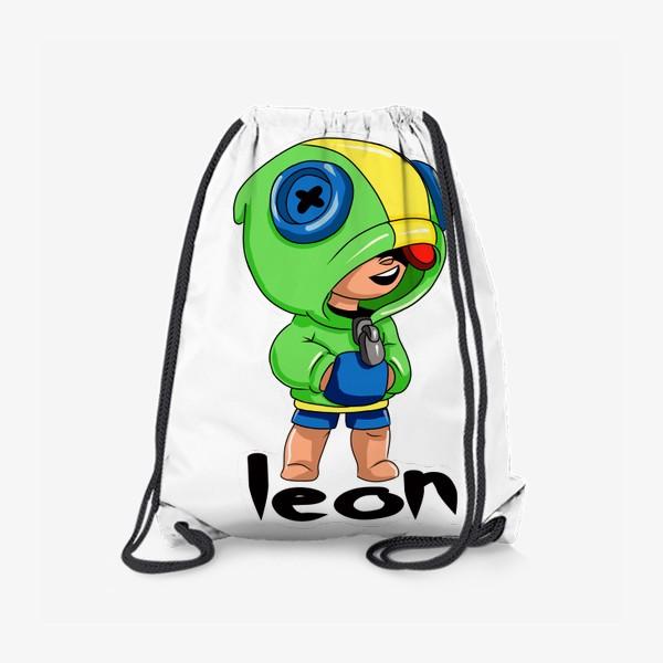 Рюкзак «Brawl Stars. Leon»