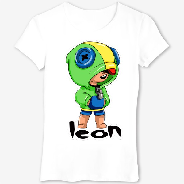 Футболка «Brawl Stars. Leon»