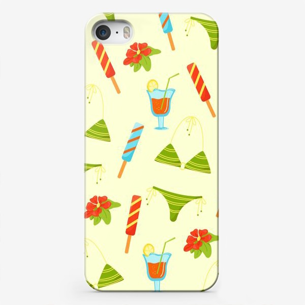 Чехол iPhone «Пляж»
