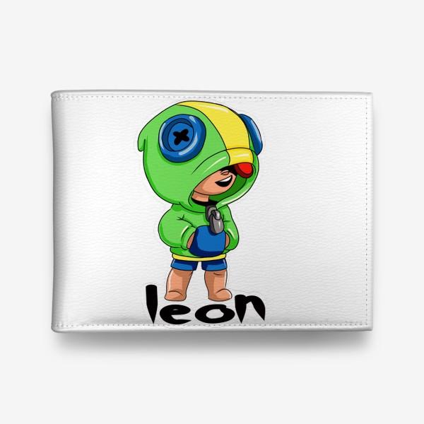 Кошелек «Brawl Stars. Leon»