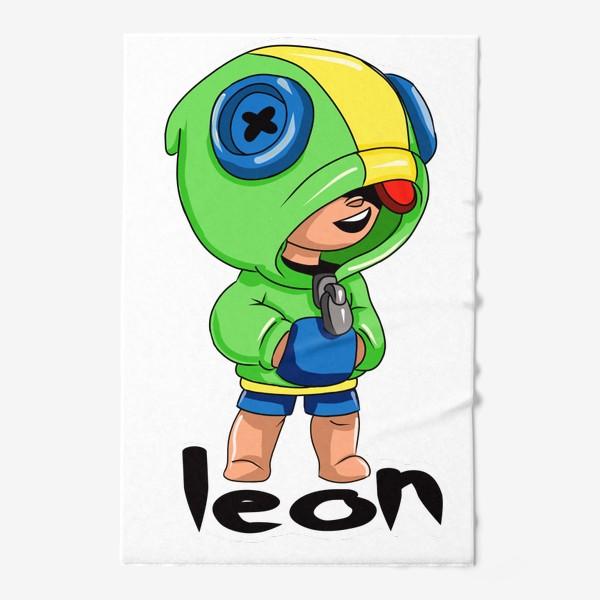 Полотенце «Brawl Stars. Leon»