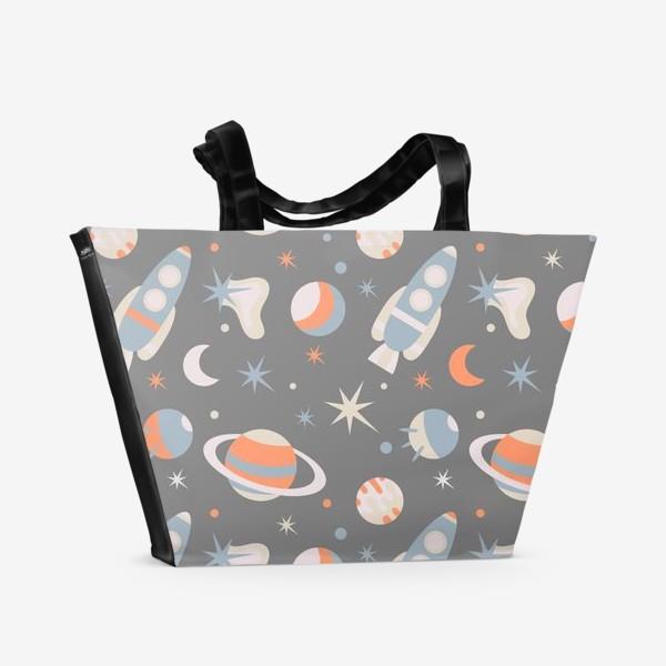 Пляжная сумка «Космическое пространство»