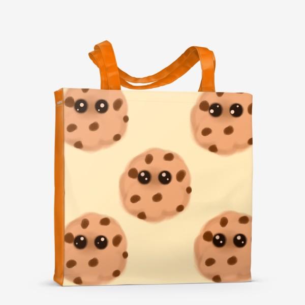 Сумка-шоппер «Печеньки»