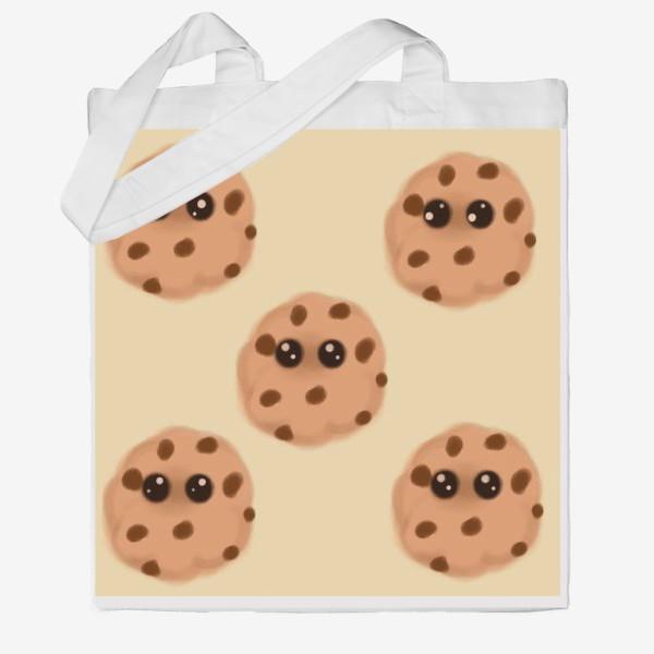 Сумка хб «Печеньки»