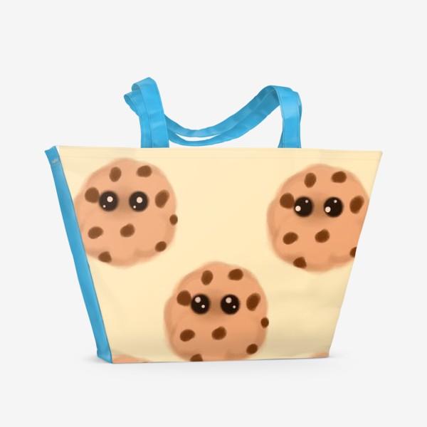 Пляжная сумка «Печеньки»