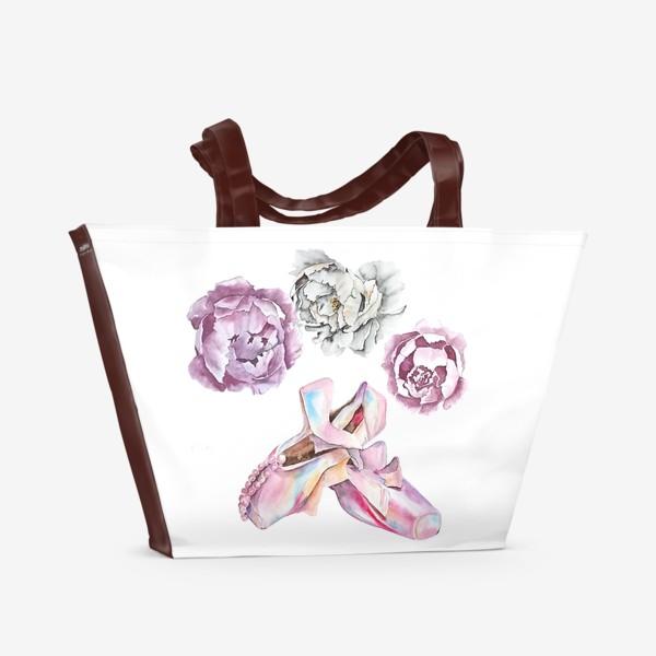 Пляжная сумка «Балет»