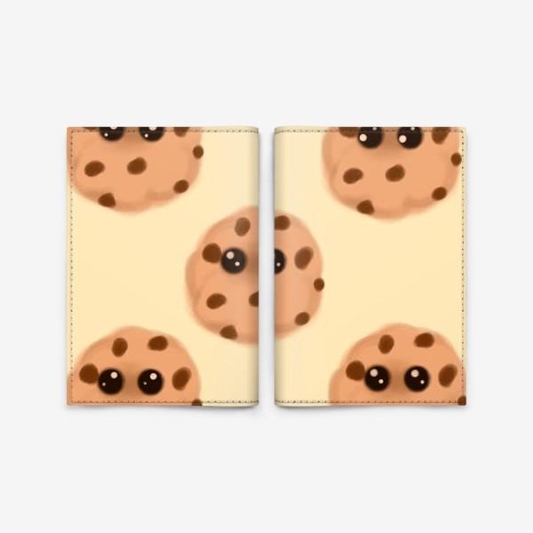 Обложка для паспорта «Печеньки»