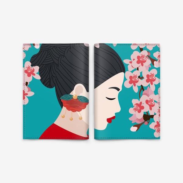 Обложка для паспорта «Украшение»