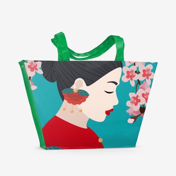 Пляжная сумка «Украшение»