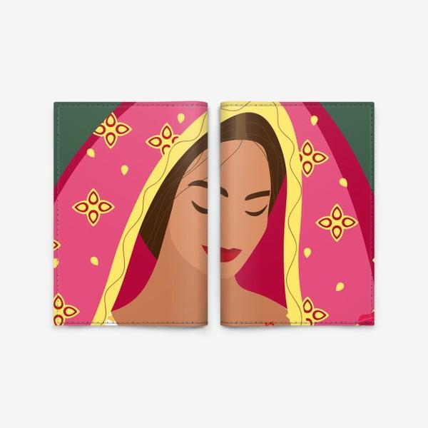 Обложка для паспорта «Индианка»