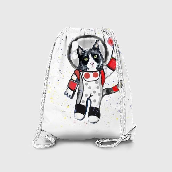 Рюкзак «Кот в космосе»