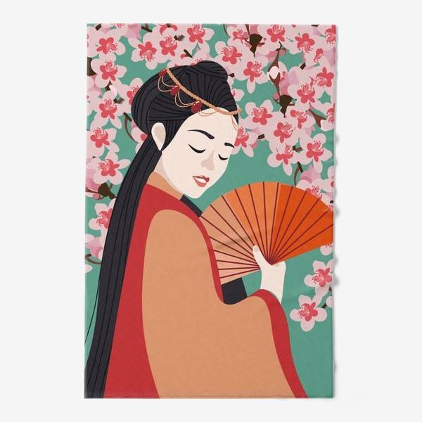 Полотенце «Сакура»