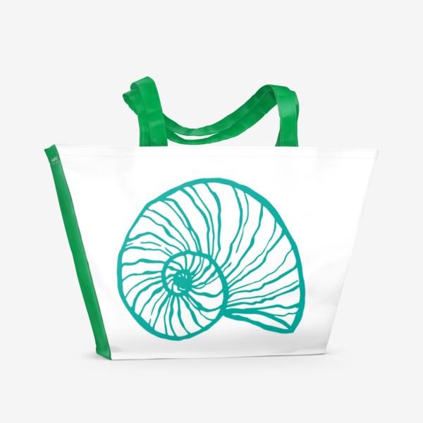 Пляжная сумка «ракушка»