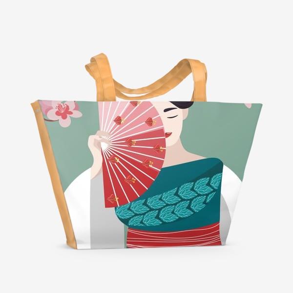 Пляжная сумка «Веер»