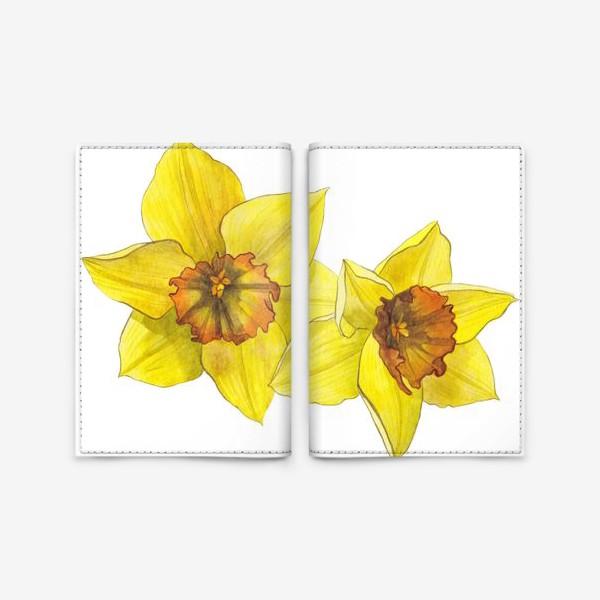 Обложка для паспорта «Нарциссы»