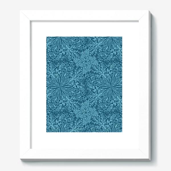 Картина «Голубые растения»