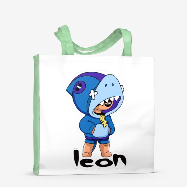Сумка-шоппер «Brawl Stars. Leon Shark»