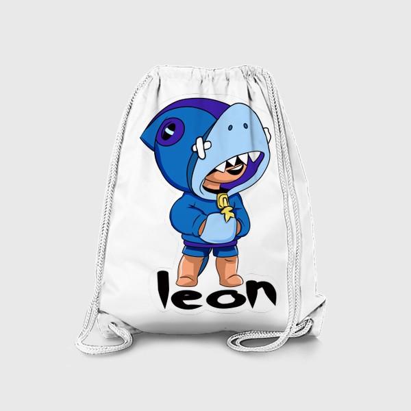 Рюкзак «Brawl Stars. Leon Shark»