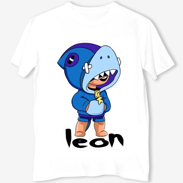 Футболка «Brawl Stars. Leon Shark»