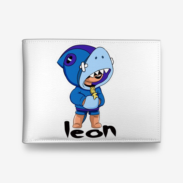 Кошелек «Brawl Stars. Leon Shark»