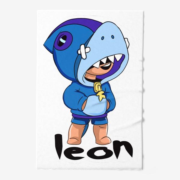 Полотенце «Brawl Stars. Leon Shark»