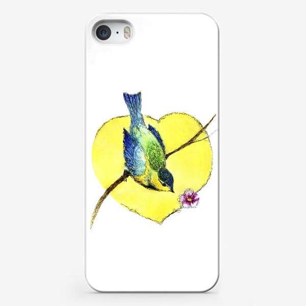 Чехол iPhone «Весенняя синичка.»