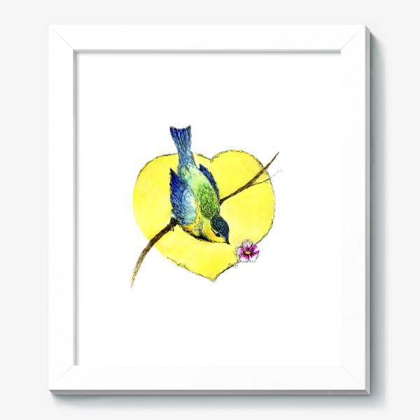 Картина «Весенняя синичка.»