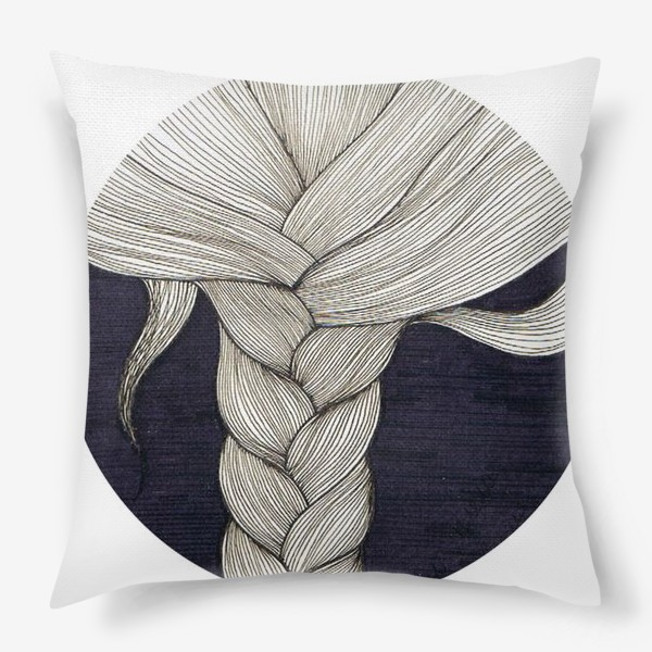 Подушка «коса»