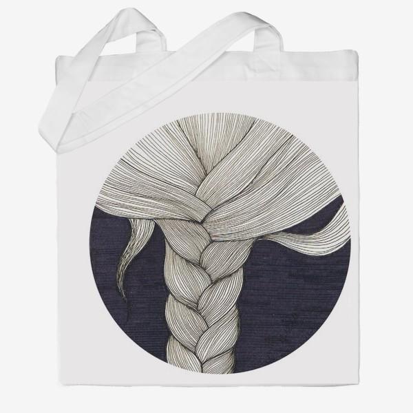 Сумка хб «коса»
