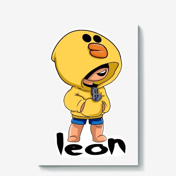 Холст «Brawl Stars. Leon. Duck»