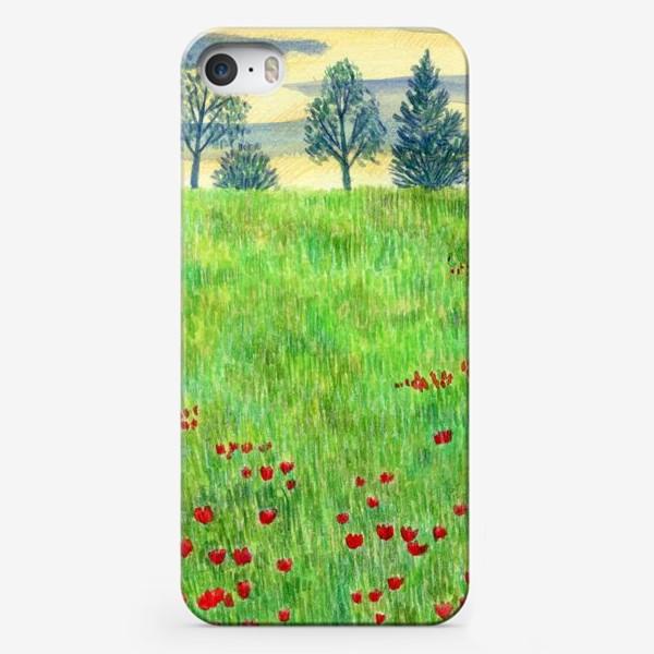 Чехол iPhone «Летний пейзаж. »