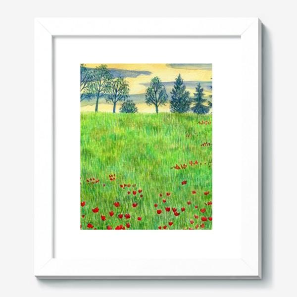 Картина «Летний пейзаж. »