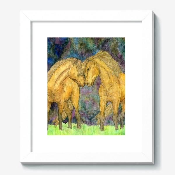 Картина «Две лошади»