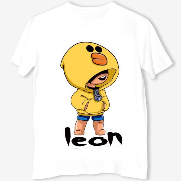 Футболка «Brawl Stars. Leon. Duck»
