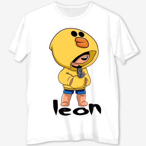 Футболка с полной запечаткой «Brawl Stars. Leon. Duck»